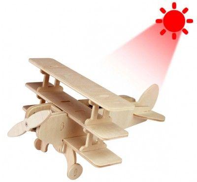 RoboTime - Solárne lietadlo - Trojplošník