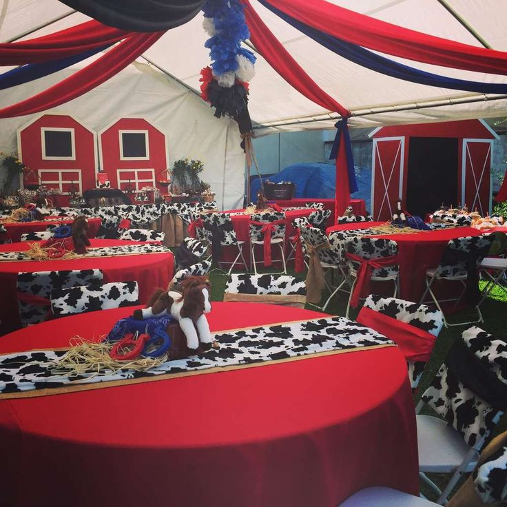 Western Cowboy Birthday Party Ideas | Photo 1 of 29 | Catch My Party