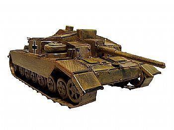 Mini modelo de tanque de guerra.