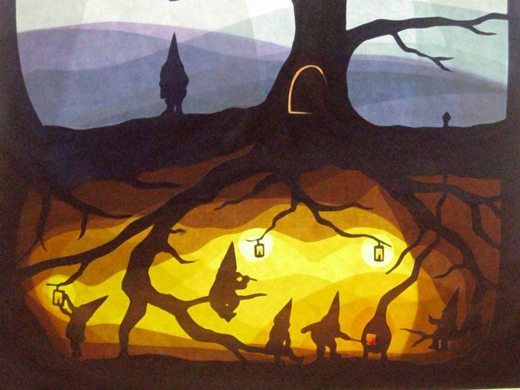 Grüße - Gnomes zu Hause - ein Designerstück von art4windows bei DaWanda