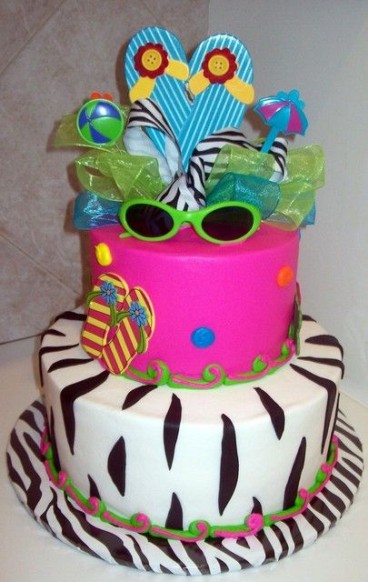 17 Best images about Pool party on Pinterest Party cakes ...