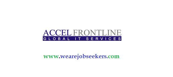 Accel Frontline Off Campus Drive   Trainee Engineer   2014 & 2015 Batch   28 Dec 2015   Tamilnadu