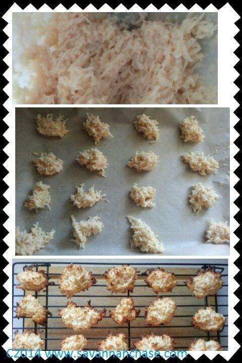 My Adventures In Cooking- Coconut Macaroons