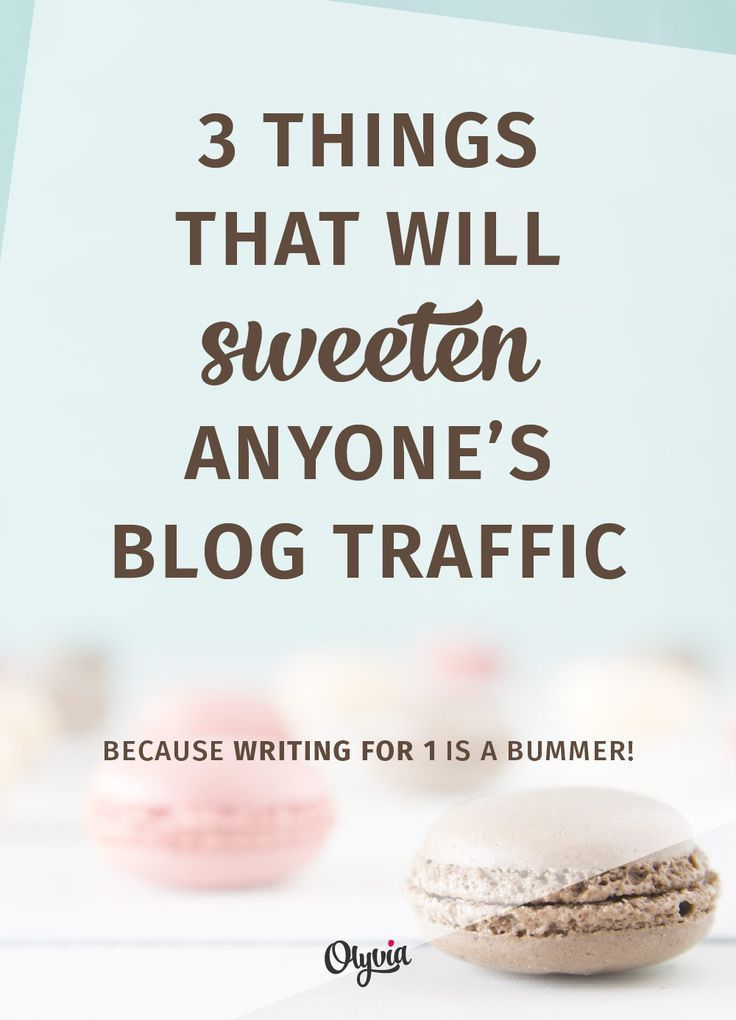 The 3 best tips for growing your blog traffic + readership, no matter what niche you're in!
