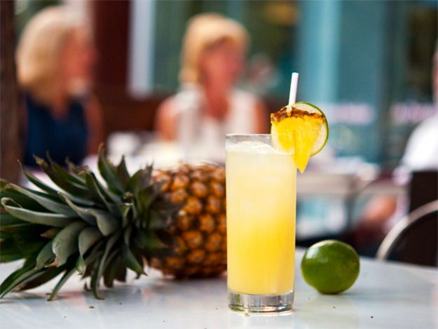 Tepache is an ancient Mayan pineapple spirit and La Condesa's version is \