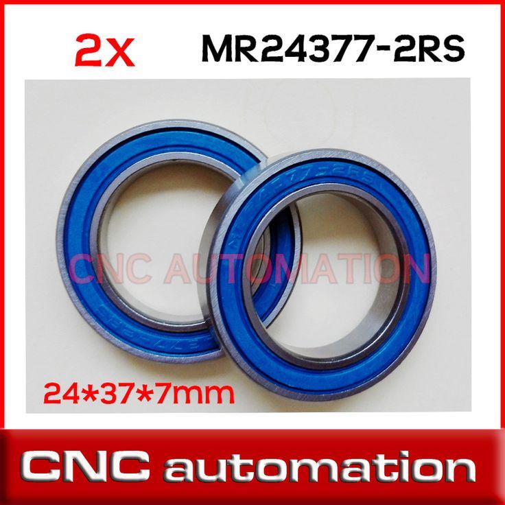2pcs  MR24377 MR2437 2RS 24377 MR2437LLB MR243707 24x37x7mm bike wheels bottom bracket repair bearing BB90 shimano FSA Trek SRAM //Price: $6.95 & FREE Shipping //     #hashtag4