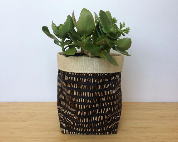 Medium Sized Fabric Planter Soft Pot Bathroom Storage Shelf