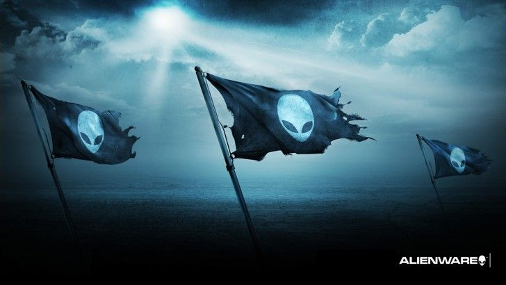 Download Alienware Flag Logo Wallpaper 1600x900