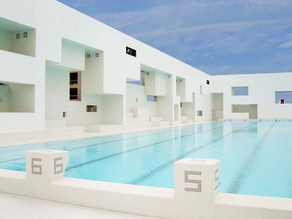 505 best images about architecture on pinterest santiago calatrava jean no - Bains des docks le havre ...