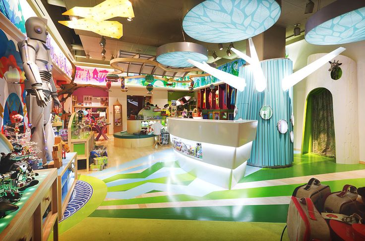 Toy Store | Retail Design | Store Interiors | Shop Design | Visual Merchandising | Retail Store Interior Design | JouJou whimsical toy store