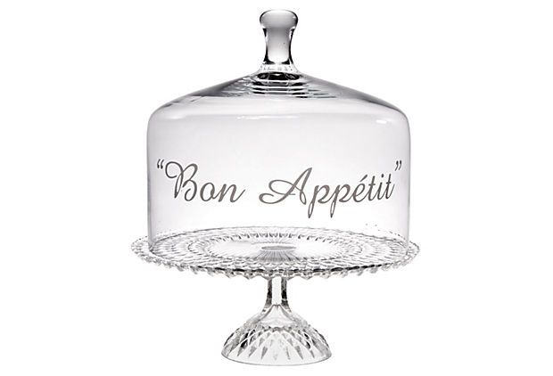"""This is such a fun addition to the table! """"Bon Appétit"""" Cake Dome on @One Kings Lane"""