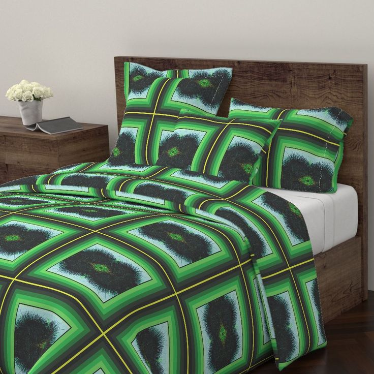 Wyandotte Duvet Cover featuring MEDURCHIN CUSHION by joancaronil | Roostery Home Decor
