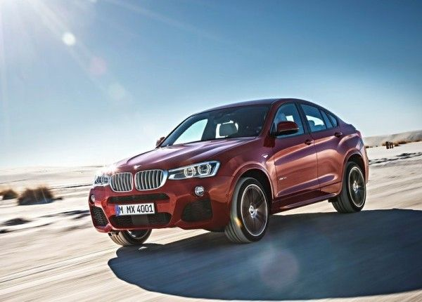 2015 BMW X4 Side Pictures 600x430 2015 BMW X4 Review
