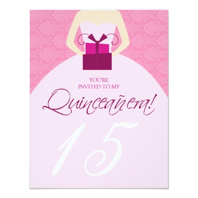 1340 best Quinceanera Invitations images on Pinterest Invitation - fancy invitation templates