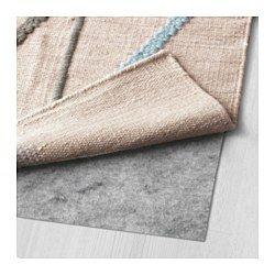 IKEA - IKEA PS 2014, ラグ 平織り, 熟練した職人による手織りなので、一点一点異なります。適正な労働条件と公正な賃金のもとに運営されるインドの織物センターでつくられていますピュアニューウール製。汚れをはじき、耐久性にも優れています毛足の長いウールを使用。丈夫で遊び毛が出にくく、自然な光沢がありますラグに織り込まれた模様が、立体感と独特の質感を生み出しています