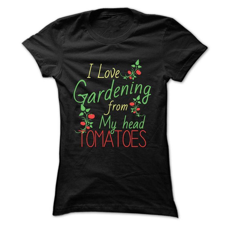 My Head Tomatoes T-Shirts, Hoodies. VIEW DETAIL ==► https://www.sunfrog.com/Hobby/My-Head-Tomatoes-Ladies.html?id=41382