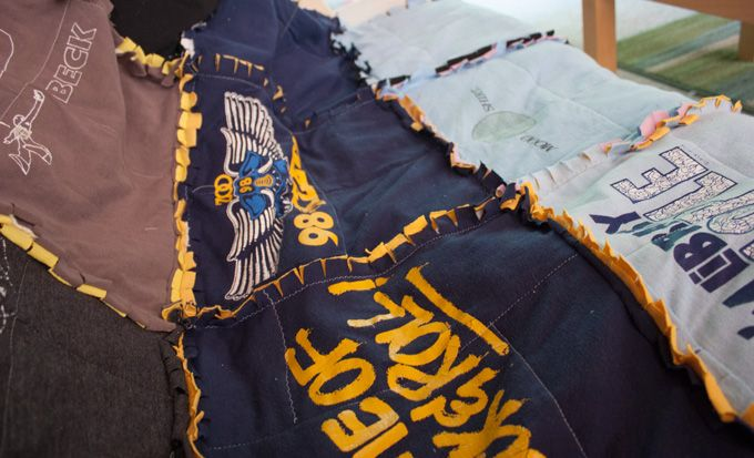 DIY: Funky T-shirt Rag Quilt for Summer Picnics and Winter Snuggling