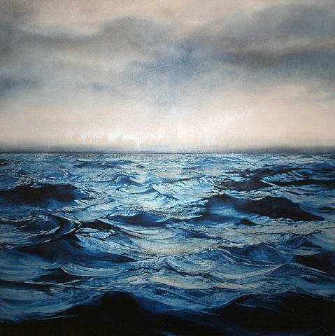... storm at sea, artist unknown ...