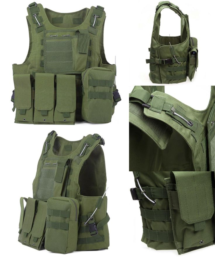 [Visit to Buy] Newest Style Amphibious Tactical Military Molle Waistcoat Combat Assault Plate Carrier Vest Hunting Protection Vest Camouflage #Advertisement