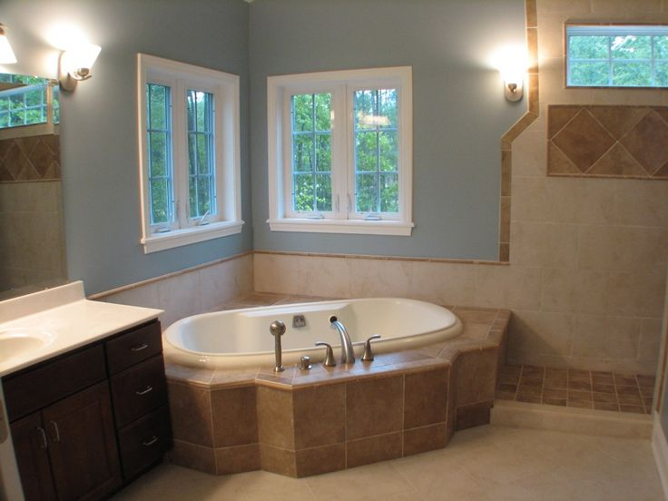 73 best Beautiful decorated bathrooms images on
