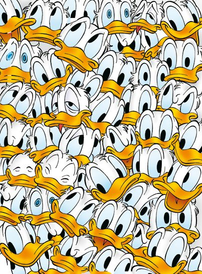 This is going to be the wallpaper in my cell at the mental institution. Donald Duck!