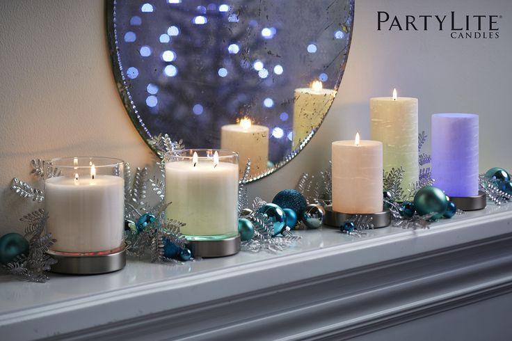 Les 41 meilleures images propos de collection des f tes for Partylite dekoration