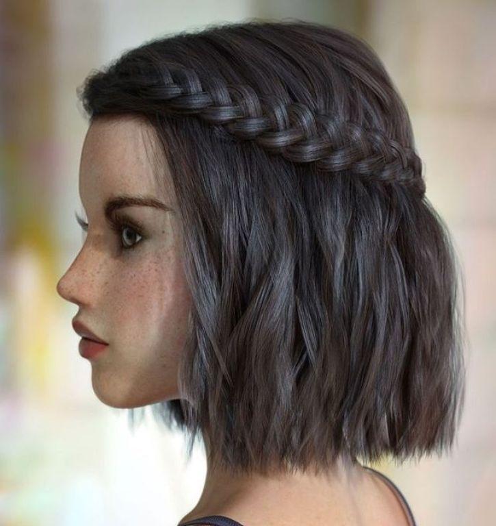 47 Hübsche Zöpfe und geflochtene Frisuren, die wirklich fantastisch sind – Zöpfe, geflochtene Frisuren, Haare, Haare, Frisuren, Zöpfe, geflochtene Frisuren