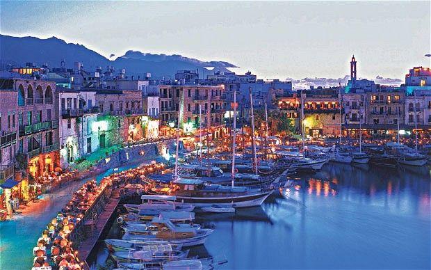 Cyprus. Harbor at Kyrenia.