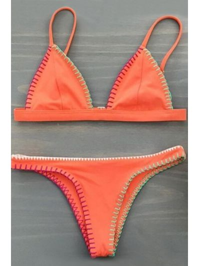 SHARE & Get it FREE | Orange Cami Bikini SetFor Fashion Lovers only:80,000…