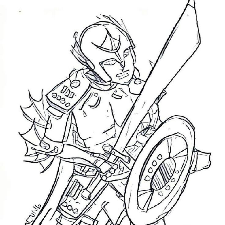 #sketsa #pose #ksatria #sword adalah character antagonis