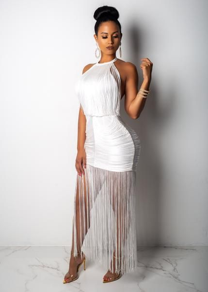 163b0048d6 I Make History Fringe Dress – Diva Boutique Online