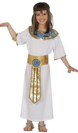 0fd9f87b570 Disfraz de Faraona Egipcia para niña