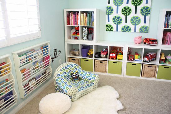 Adorable reading space for the little ones #books
