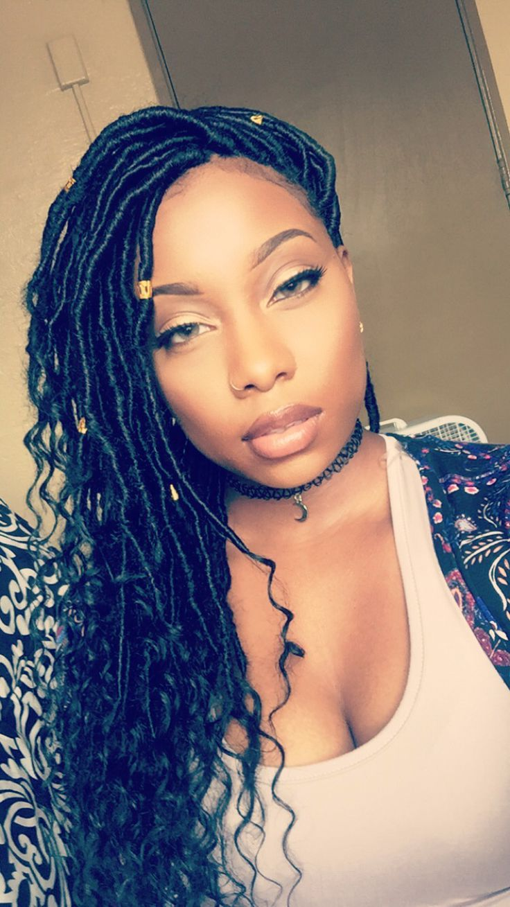 301 best faux locs images on pinterest protective hairstyles goddess locs i did on myself solutioingenieria Choice Image