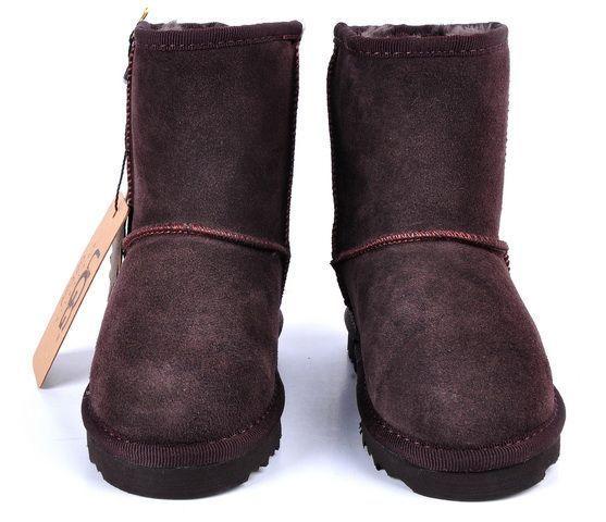 UGG Classic Short Kids Boot 5281 Chocolate  http://uggbootshub.com/ugg-boots-short-ugg-classic-short-kids-5281-c-18_20.html