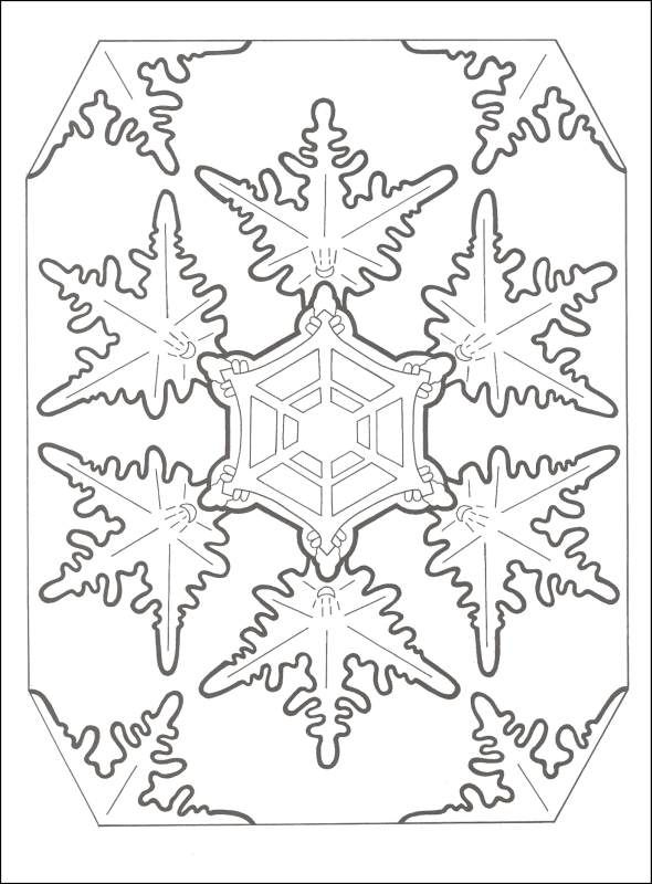 snowflake mandala coloring pages google search