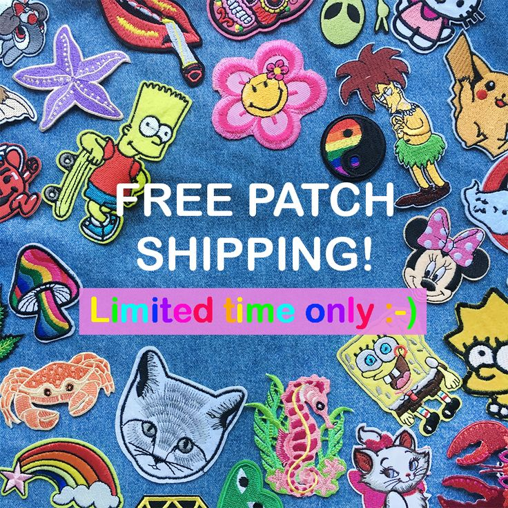 ENDS AT 4PM AEST! www.tibbsandbones.com #patches #irononpatches #freeshipping