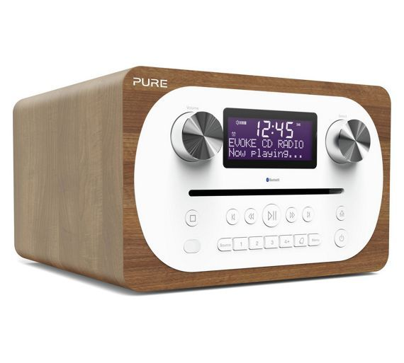Buy Pure Evoke Bluetooth All In One DAB Radio - Oak at Argos.co.uk - Your Online Shop for Radios, Home audio, Technology.