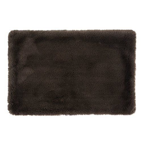 DII Faux Fur, Silky Soft Pet Cage Liner for Kennels, Car Trips, Floors, Crates, Pet Bed or Crate Bed. Perfect For Dogs & Cats - XX-Large Brown - http://www.bunnybits.org/dii-faux-fur-silky-soft-pet-cage-liner-for-kennels-car-trips-floors-crates-pet-bed-or-crate-bed-perfect-for-dogs-cats-xx-large-brown/