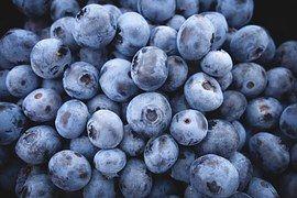 Bosbessen, Vruchten, Voedsel, Bessen