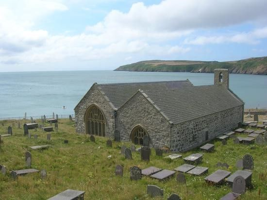 St Hywyn's Church, Aberdaron | Lleyn Peninsula, North Wales | Quality Cottages | http://www.qualitycottages.co.uk/aroundwales/places-visit-lleyn-peninsula/