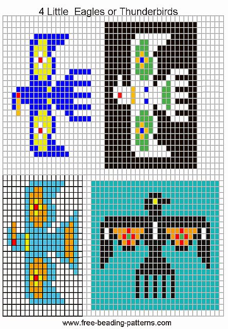 bead loom patterns free - WOW.com - Image Results                                                                                                                                                                                 More