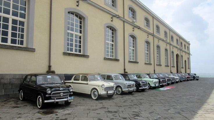 Domenica 15 maggio negli spazi aperti del Museo di Pietrarsa sono state esposte le mitiche Fiat 1100 per il raduno automobilistico Maggio 2016