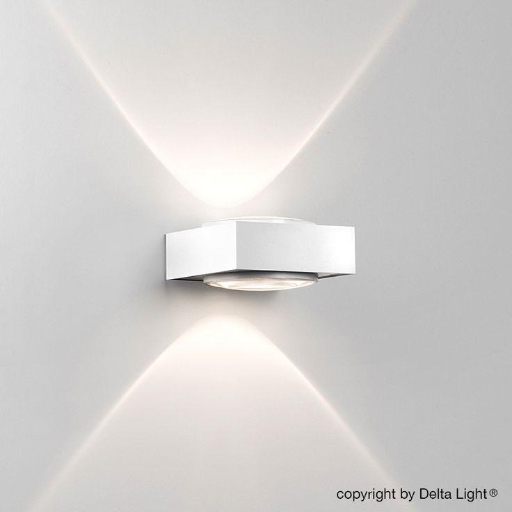 delta light vision up down wandleuchte. Black Bedroom Furniture Sets. Home Design Ideas