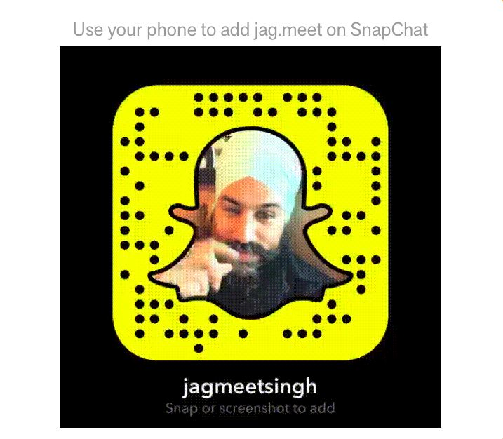 Jagmeet created his snapchat account way before the NDP race for personal use. He added his account as a