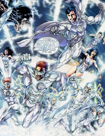 Well apparently I'm white lantern corps but I think I'd be green.
