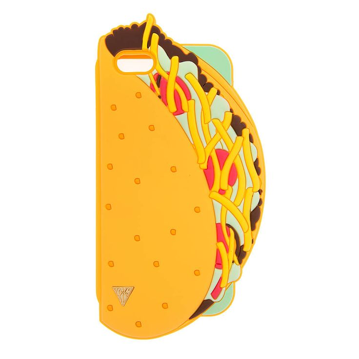 """<P>Give them something to taco 'bout. Any night can be taco night with this Katy Perry iPhone 6 cover shaped like a taco and filled with your favorite toppings. Part of the PRISM collection.</P><UL><LI>Exclusively by Claire's<LI>Measurements: 3 1/2""""L x 6 3/4""""H<LI>Fits iPhone 6<LI>Materials: Silicone</LI></UL>"""
