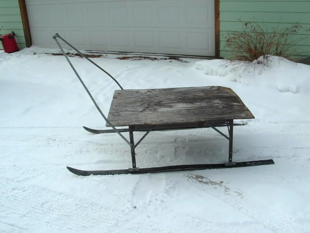 17 best images about vintage 39 smitty sleds 39 on pinterest for Ice fishing sled ideas