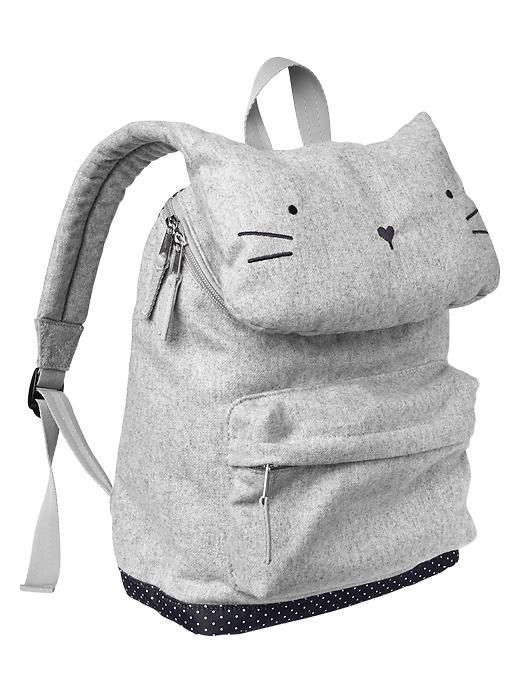 Gap Kitty Cat Backpack - $35.                                                                                                                                                                                 Más