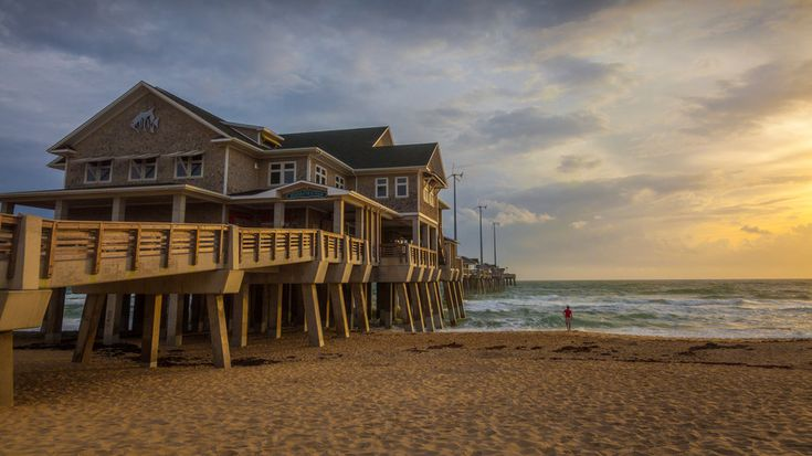 Nags Head, North Carolina | It doesn't need to be summer to get your beach fix. When the winter blues start to hit, we long for carefree summer days spent relaxing at the beach. Luckily, living in the South lends itself to year-round coastal getaways thanks to our temperate climate. A winter beach getaway is a no-brainer simply because it's less crowded and not as sweltering hot. We think this might be the secret to your most relaxing beach vacation yet.